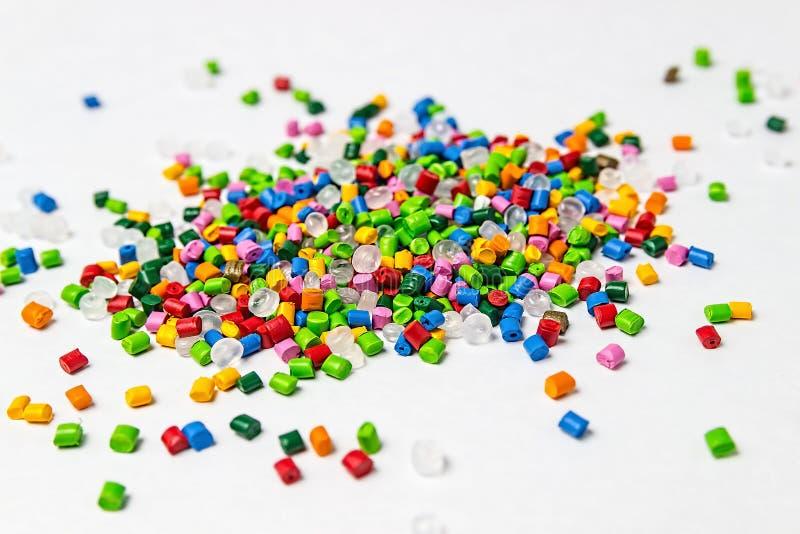Πολυμερής χρωστική ουσία Χρωστική ουσία για τα πλαστικά Χρωστική ουσία στους κόκκους στοκ εικόνες με δικαίωμα ελεύθερης χρήσης