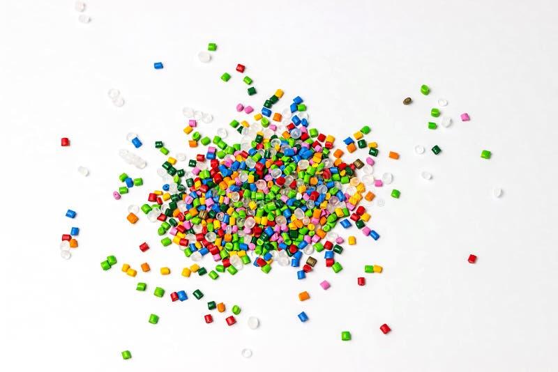 Πολυμερής χρωστική ουσία Χρωστική ουσία για τα πλαστικά Χρωστική ουσία στους κόκκους στοκ φωτογραφία με δικαίωμα ελεύθερης χρήσης