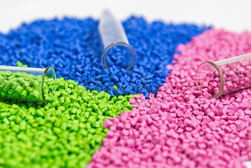 Πολυμερής χρωστική ουσία Χρωστική ουσία για τα πλαστικά Χρωστική ουσία στους κόκκους στοκ φωτογραφίες