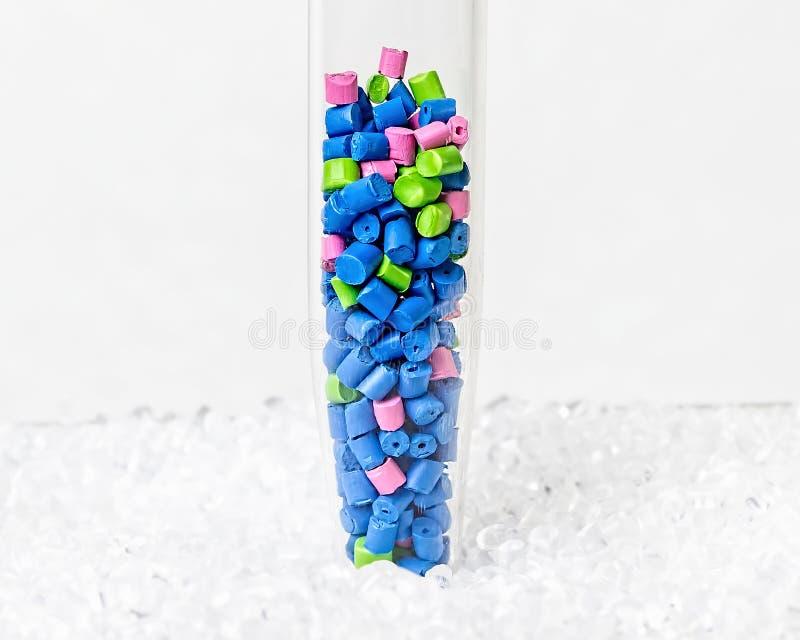 Πολυμερής χρωστική ουσία πλαστικοί σβόλοι Χρωστική ουσία για τα πλαστικά Χρωστική ουσία ι στοκ φωτογραφία