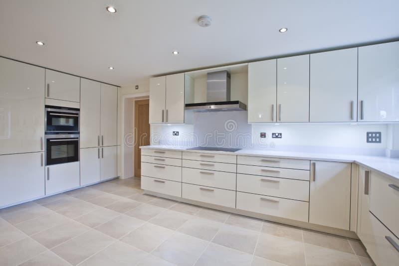 πολυτέλεια κουζινών σύγ& στοκ φωτογραφία