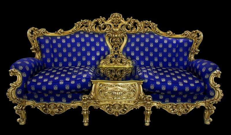 πολυτελής καναπές στοκ εικόνα