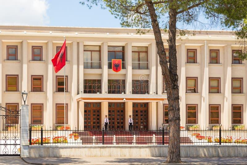 Πολυτεχνικό πανεπιστήμιο των Τιράνων, δημόσιο πανεπιστήμιο, Αλβανία στοκ εικόνα