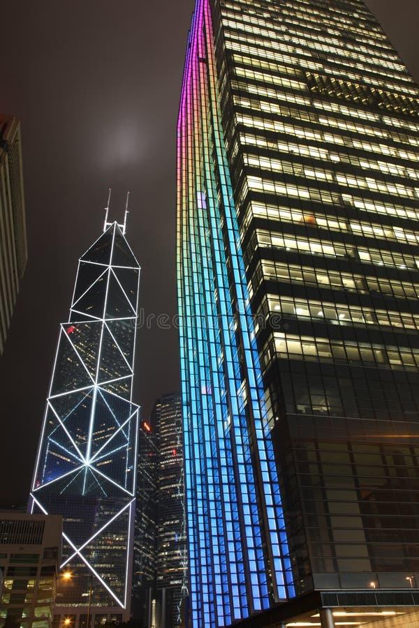 πολυόροφο κτίριο Χογκ Κ στοκ φωτογραφίες με δικαίωμα ελεύθερης χρήσης