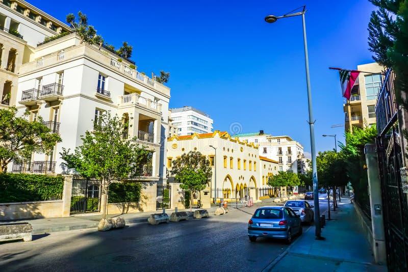 Πολυ διαμερίσματα 02 επιπέδων της Βηρυττού στοκ φωτογραφία με δικαίωμα ελεύθερης χρήσης