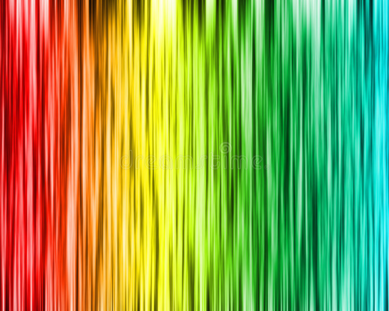 πολυ κύμα χρώματος ανασκό& ελεύθερη απεικόνιση δικαιώματος