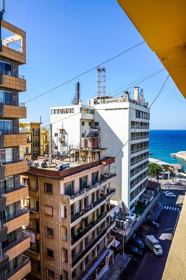 Πολυ πολυόροφο κτίριο επιπέδων της Βηρυττού στοκ εικόνα