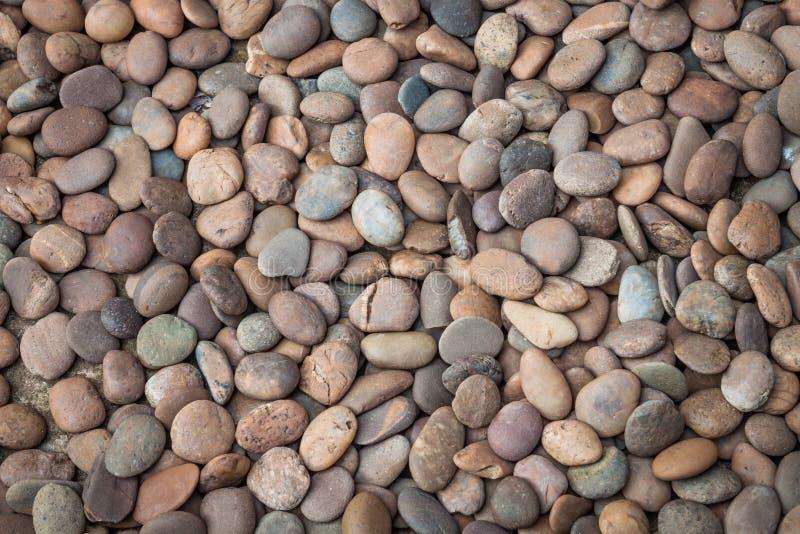 Πολυ που χρωματίζεται του χαλικιού βράχου φύσης στοκ φωτογραφία με δικαίωμα ελεύθερης χρήσης