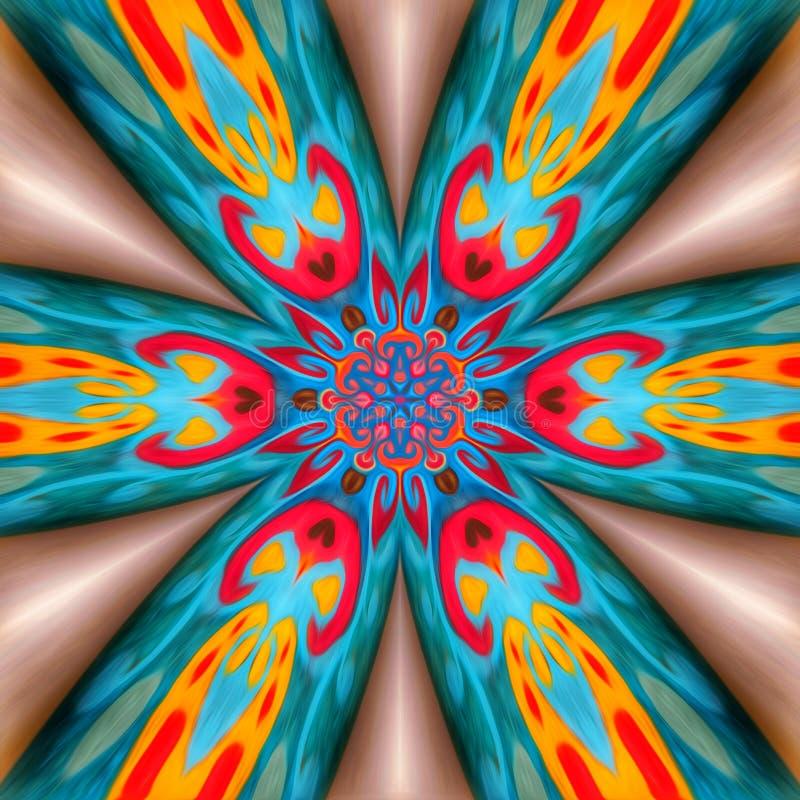 Πολυ χρωματισμένο αφηρημένο υπόβαθρο, χρωματισμένη σύσταση, πλήρες σχέδιο χρωμάτων, ψηφιακή απεικόνιση απεικόνιση αποθεμάτων