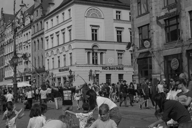 Πολωνία, αρχείο WrocÅ 'aw 2018 Guiness κιθάρων WrocÅ 'aw 2018 στοκ εικόνα
