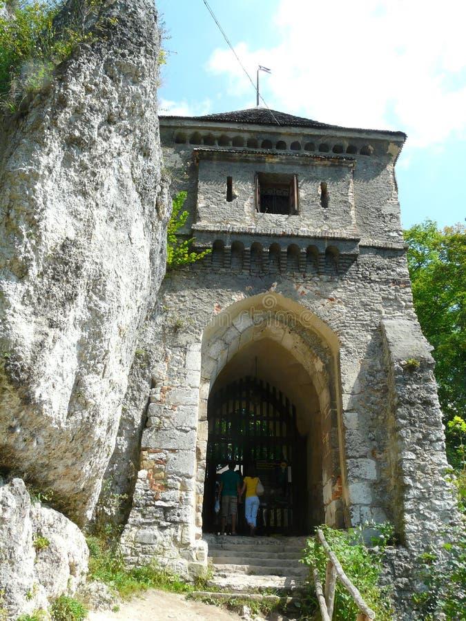 Πολωνία-κάστρο OJCOW στο Κρακοβία-Czestochowa Upla στοκ εικόνες με δικαίωμα ελεύθερης χρήσης