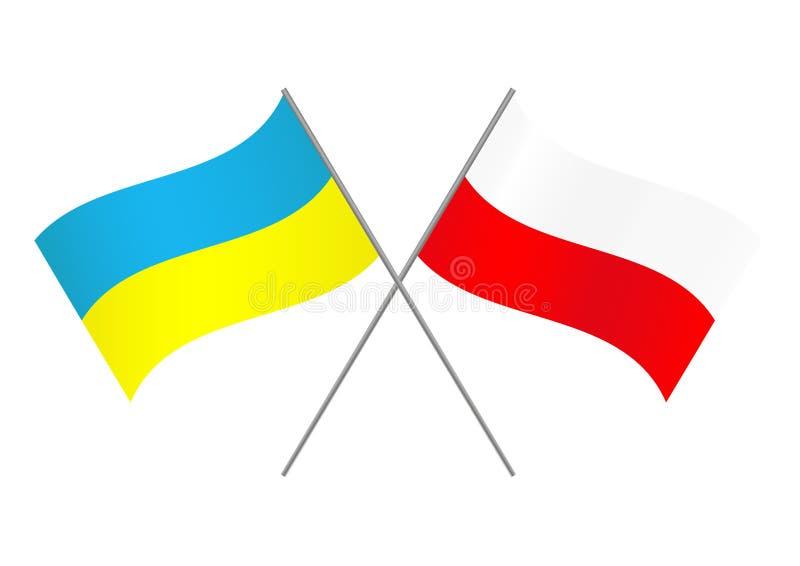 Πολωνία Ουκρανία ελεύθερη απεικόνιση δικαιώματος