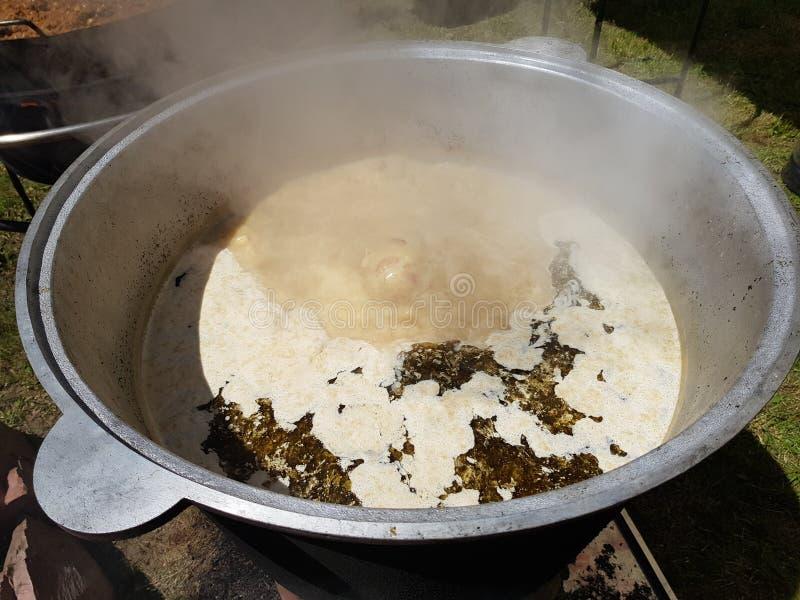 Πολωνική σούπα zhurek στοκ εικόνες