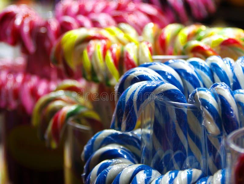Πολύχρωμα lollipops στοκ φωτογραφία με δικαίωμα ελεύθερης χρήσης