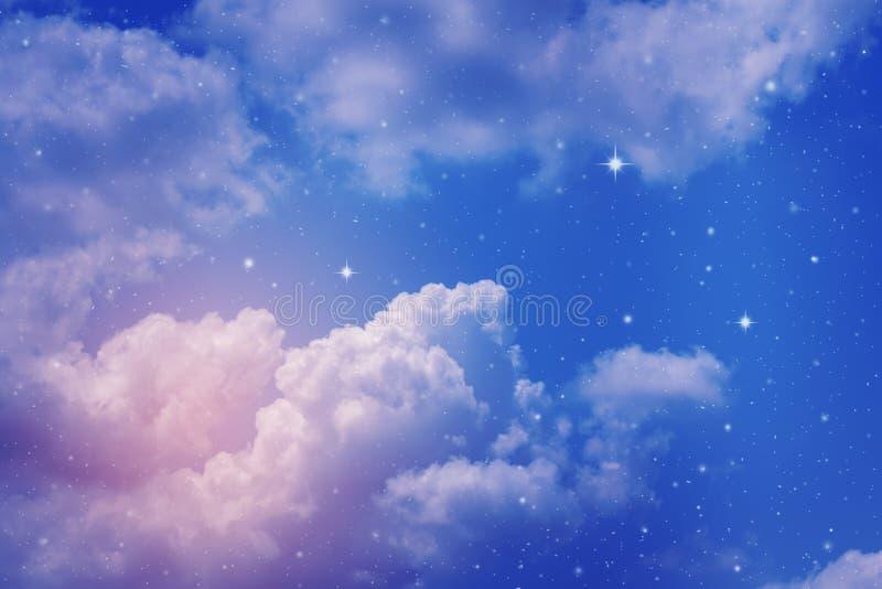Πολύχρωμος νυχτερινός ουρανός στοκ φωτογραφία με δικαίωμα ελεύθερης χρήσης