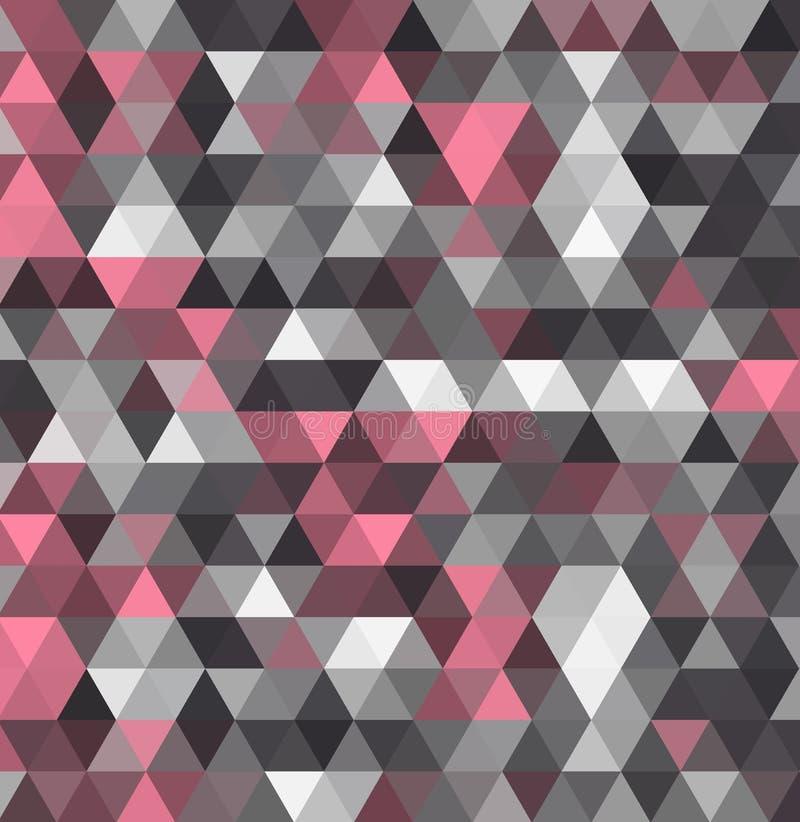 Πολύχρωμο γεωμετρικό τριγωνικό χαμηλό πολυ ύφος Υπόβαθρο κλίσης διανυσματική απεικόνιση