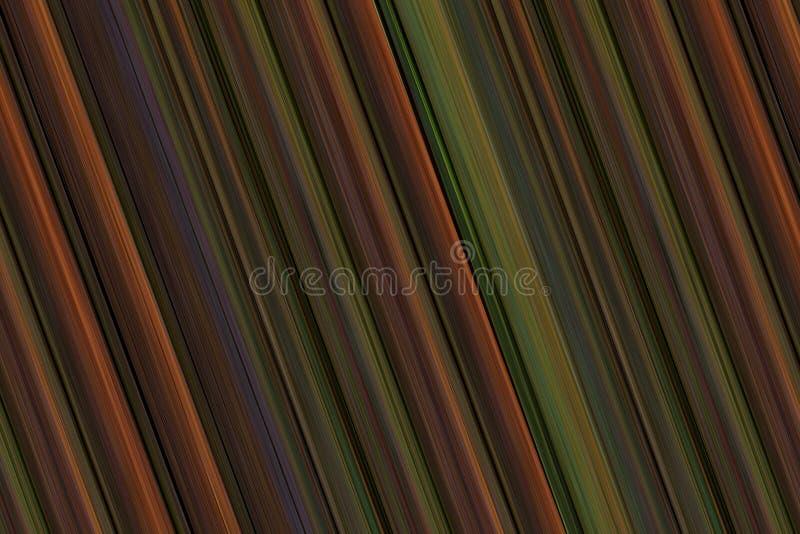 Πολύχρωμο ριγωτό υπόβαθρο επιφάνειας στους καφετιούς τόνους ελεύθερη απεικόνιση δικαιώματος