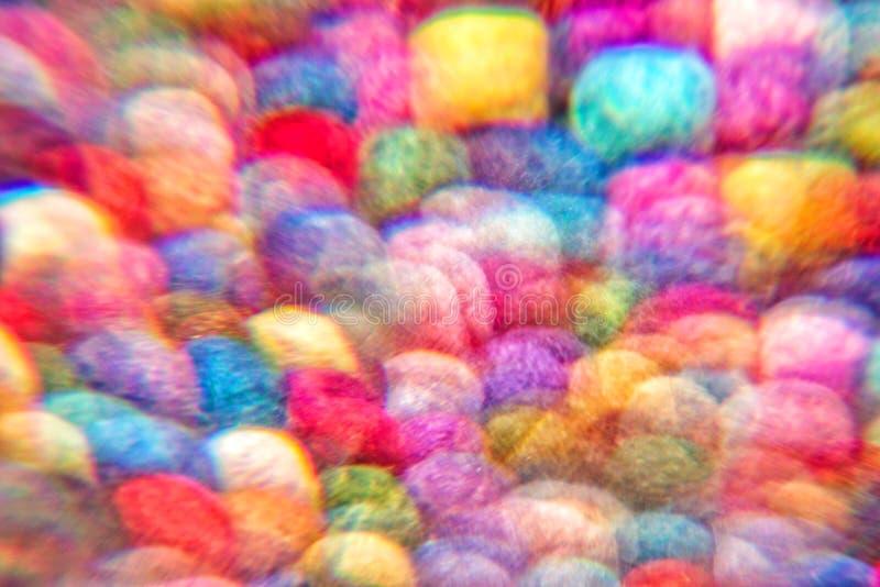 Πολύχρωμο φόντο κονιοποιημένων κοχλιών μαλλιού Αφηρημένο στοκ εικόνες