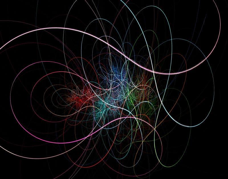 Πολύχρωμο fractal χάους απεικόνιση αποθεμάτων
