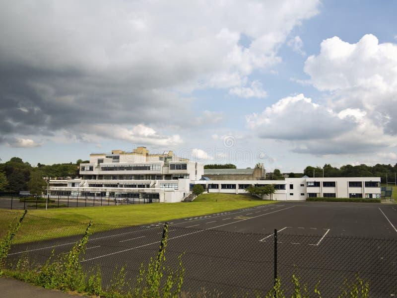 Πολύ μεγάλο σχολείο Στοκ Εικόνα