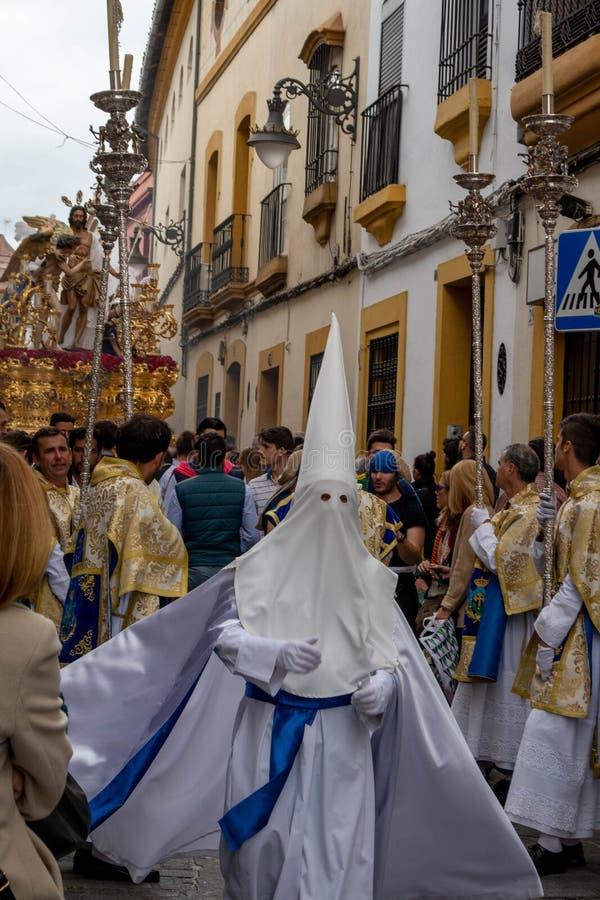 Πομπή santa Semana στην Κόρδοβα στοκ φωτογραφία