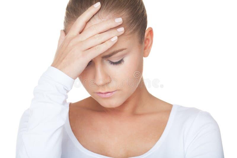 Πονοκέφαλος στοκ φωτογραφία με δικαίωμα ελεύθερης χρήσης