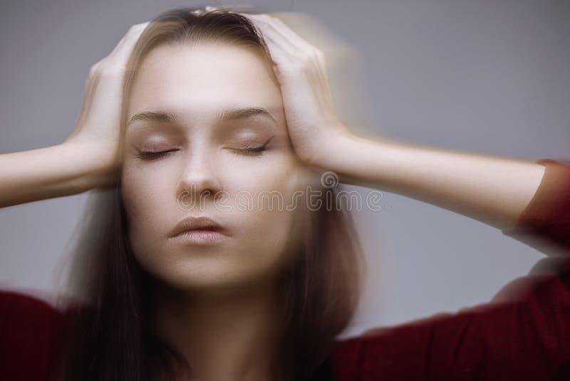 Πονοκέφαλος στοκ φωτογραφία