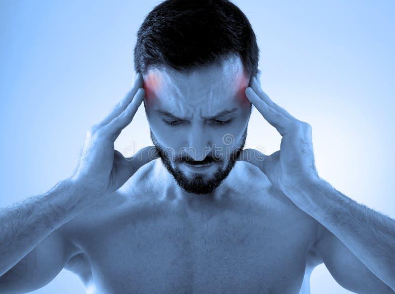 Πονοκέφαλος στοκ εικόνες