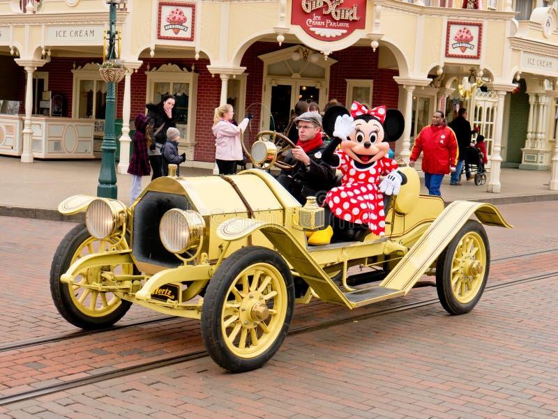 ποντίκι αυτοκινήτων minnie στοκ φωτογραφίες με δικαίωμα ελεύθερης χρήσης