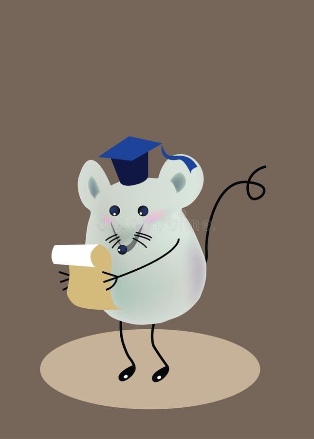 ποντίκι βαθμολόγησης διανυσματική απεικόνιση