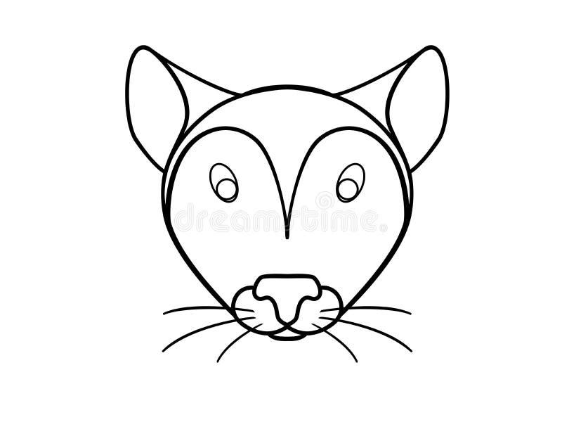 Ποντίκι, κεφάλι ποντικιών, τρωκτικό Αρουραίος ελεύθερη απεικόνιση δικαιώματος
