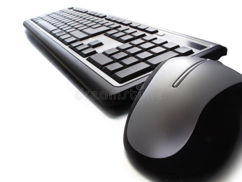 ποντίκι πληκτρολογίων στοκ φωτογραφία