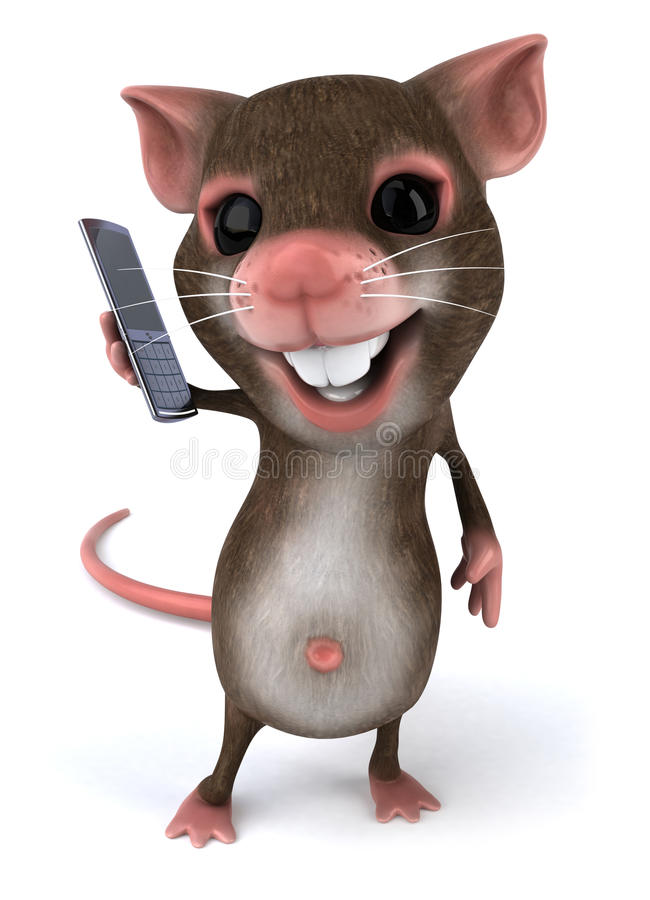 ποντίκι ελεύθερη απεικόνιση δικαιώματος