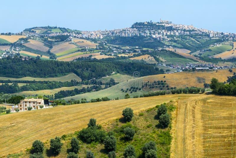 Πορείες (Ιταλία), τοπίο στοκ εικόνες