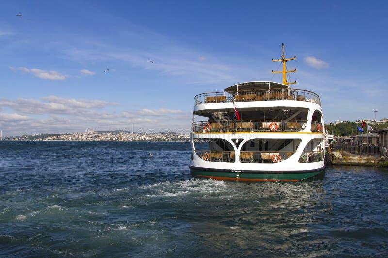 Πορθμείο επιβατών της Ιστανμπούλ στοκ εικόνα