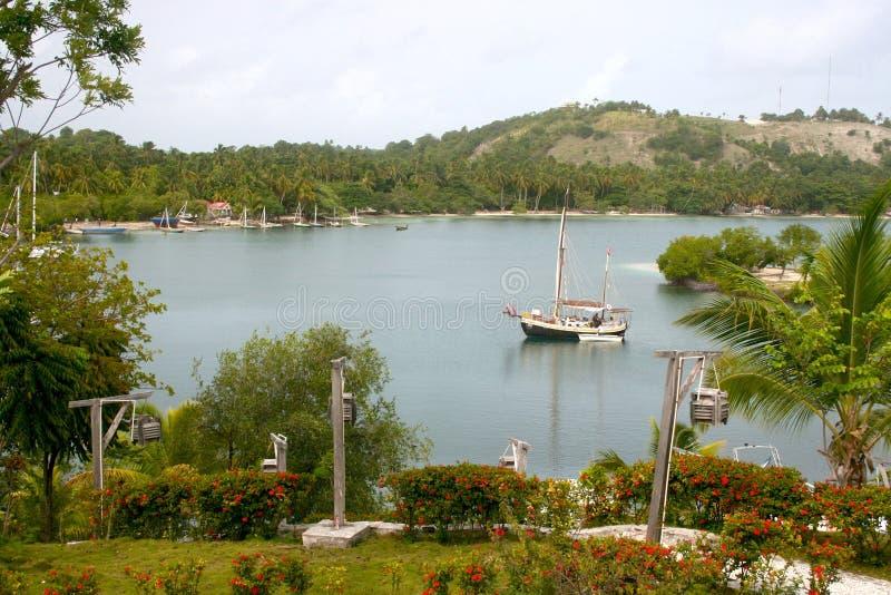 Πορθμείο νησιών αγελάδων, Αϊτή στοκ εικόνα με δικαίωμα ελεύθερης χρήσης