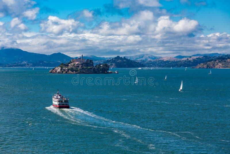 Πορθμείο προς Alcatraz στοκ φωτογραφία με δικαίωμα ελεύθερης χρήσης