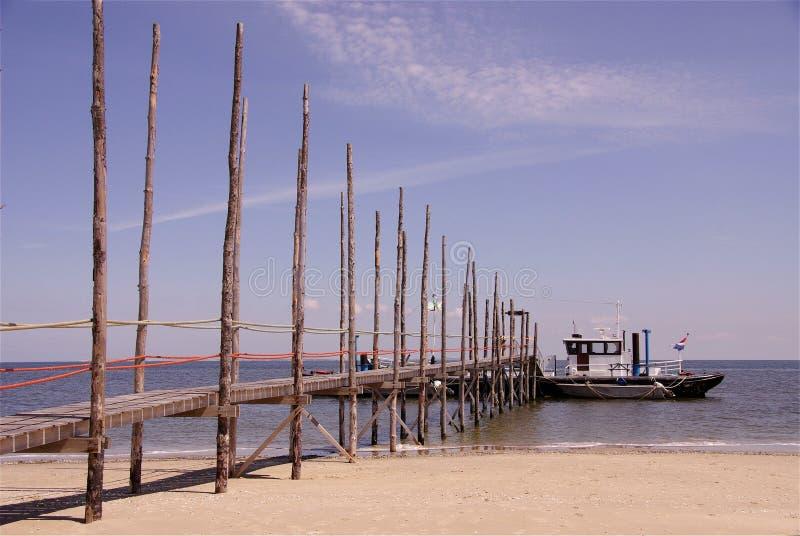 πορθμείο texel στο vlieland στοκ εικόνες με δικαίωμα ελεύθερης χρήσης