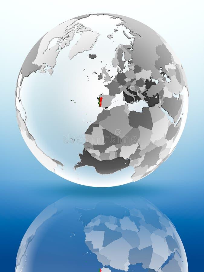 Πορτογαλία στην πολιτική σφαίρα απεικόνιση αποθεμάτων