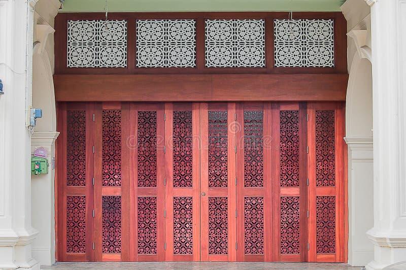 Πορτογαλική πόρτα Chino στοκ εικόνες