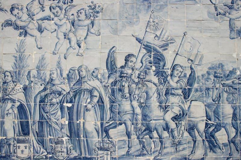 Πορτογαλικό κεραμίδι στοκ φωτογραφία με δικαίωμα ελεύθερης χρήσης