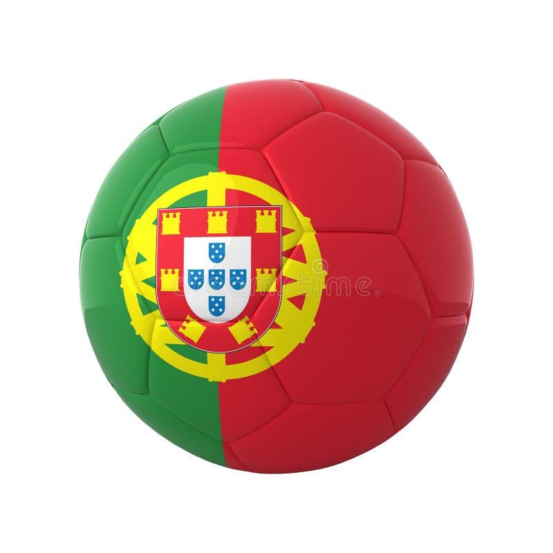 πορτογαλικό ποδόσφαιρο απεικόνιση αποθεμάτων