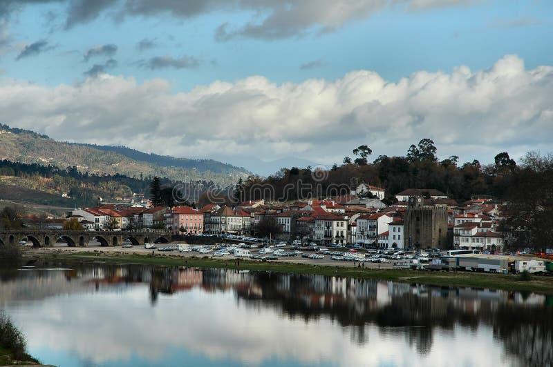 πορτογαλικό χωριό στοκ φωτογραφία