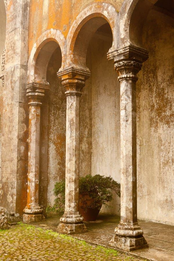Πορτογαλία, παλάτι Pena, Sintra, βασιλική κατοικία του πρίγκηπα Ferdina στοκ εικόνες με δικαίωμα ελεύθερης χρήσης