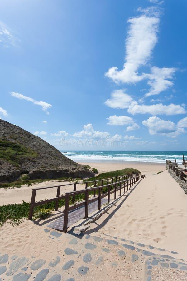 Πορτογαλία - Praia do Castelejo στοκ φωτογραφίες με δικαίωμα ελεύθερης χρήσης