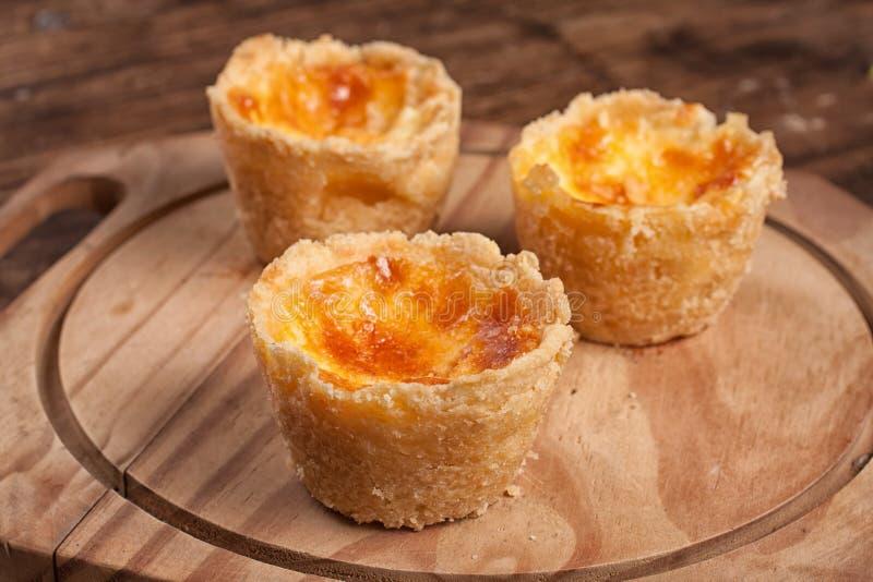 Πορτογαλικό τυρί Empadinhas στοκ εικόνα με δικαίωμα ελεύθερης χρήσης