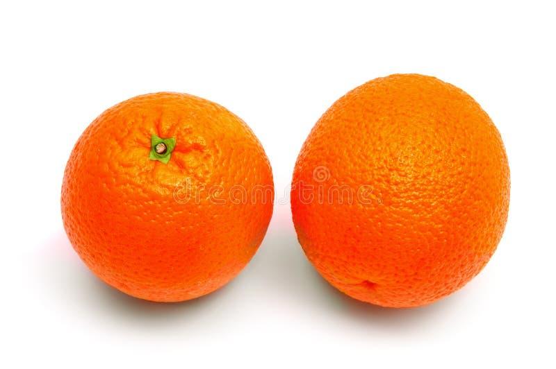 πορτοκάλια δύο στοκ φωτογραφίες με δικαίωμα ελεύθερης χρήσης