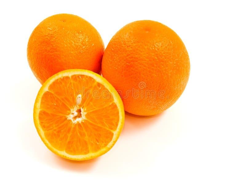 πορτοκάλια καρπών στοκ φωτογραφία με δικαίωμα ελεύθερης χρήσης