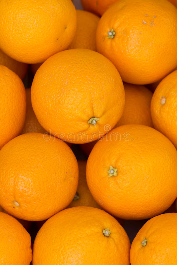πορτοκάλια νωπών καρπών στοκ φωτογραφίες