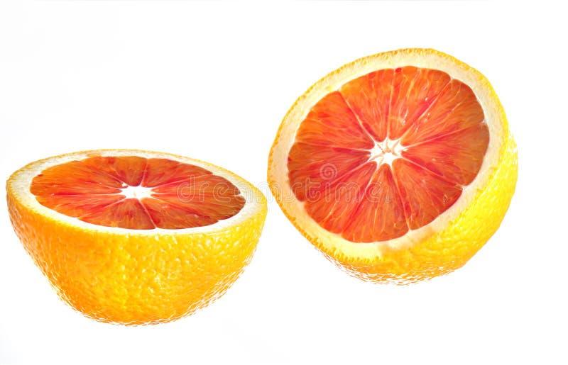 πορτοκάλι αίματος στοκ φωτογραφία με δικαίωμα ελεύθερης χρήσης